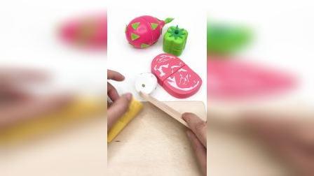 水果蔬菜切切乐,一起来切厨房玩具