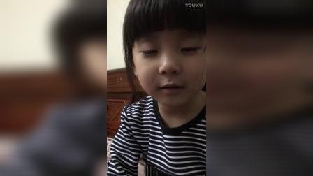 女孩哭了。