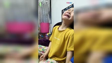 女孩哭哭。