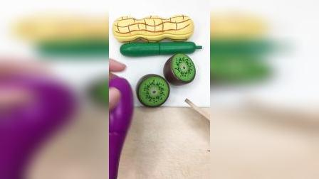 小萌娃一起来切蔬菜水果啦