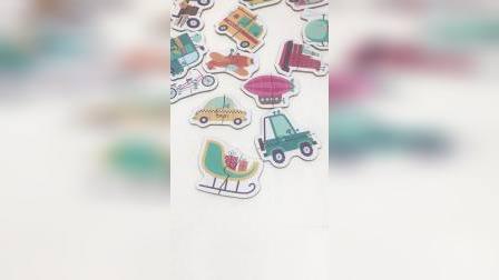 儿童小拼图玩具小汽车