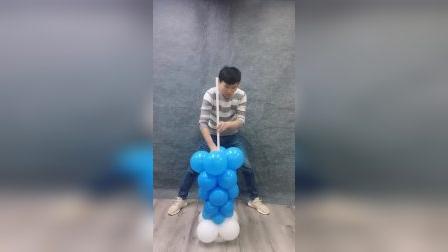 气球做出小丑先生!