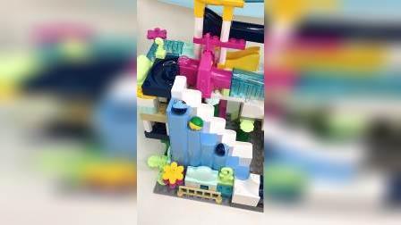 儿童城堡玩具,小萌娃们玩具球