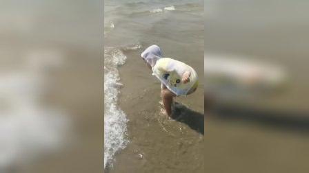 去海边游玩