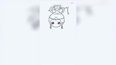 如果叶罗丽曼多拉变成可爱简笔画,会变成什么呢?