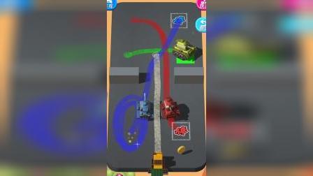 小游戏:怎么样不让几辆车相撞