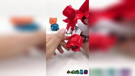 超级飞侠乐迪变形飞机玩具