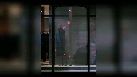 这家服装店悄悄用上橱窗LED透明屏 惊艳所有人