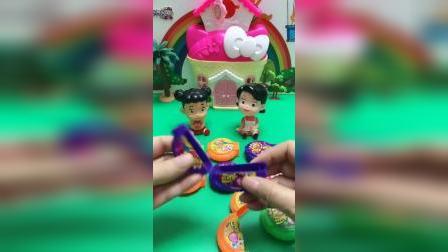 儿童玩具:糖果都去哪里了