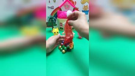 儿童玩具:你们喜欢吃巧克力吗?