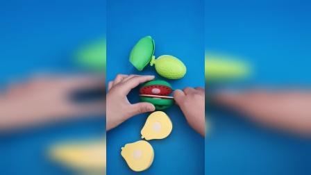 益智玩具:开始切水果喽