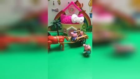 儿童玩具:我还没上车呢.