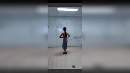芳芳老师藏舞《情歌呀啦嗦》第一讲