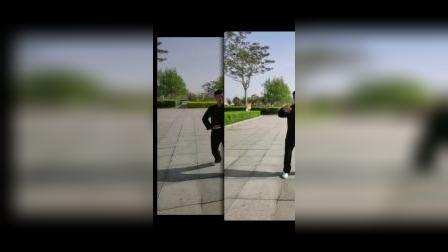 浙江57岁零基础来到天津滨海新区汉沽初学唐传形意拳1天半拍摄的视频