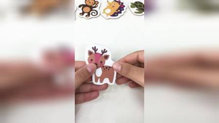 儿童简易小拼图,开心拼拼乐玩具