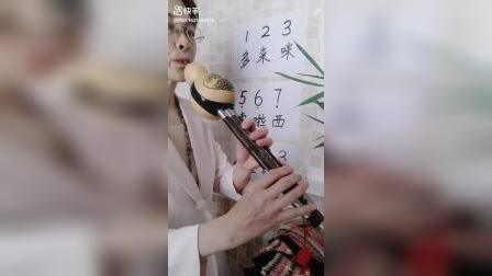葫芦丝教学视频葫芦丝的指法和音阶初学入门第1课