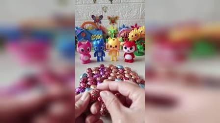 这么多糖果要怎么分呢?