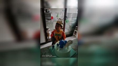 孙子的六周岁的生日