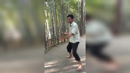 胡江北拍的功夫打人视频