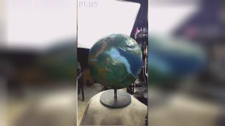 自己动手制作地球仪,我怎么这么能干