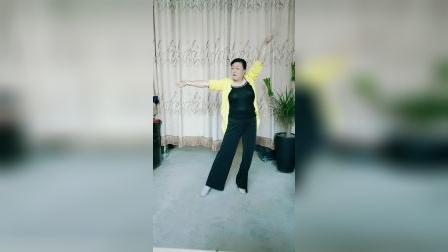 云莲飞舞广场舞(站着等你三千年)