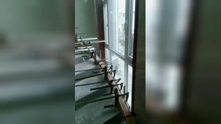 多片扶手施工 旋转楼梯扶手制作 教程