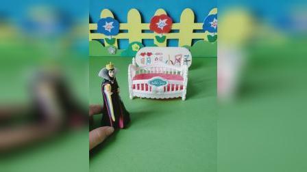 益智玩具:王后来找白雪的日记本了