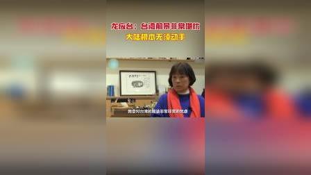 龙应台:台湾前景非常堪忧,大陆根本无须动手!