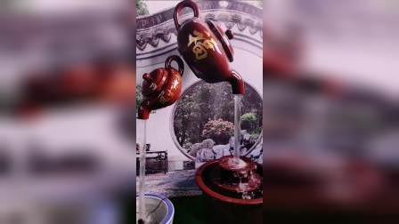 奇幻悬空天壶,旅游攻略石雕喷泉广场