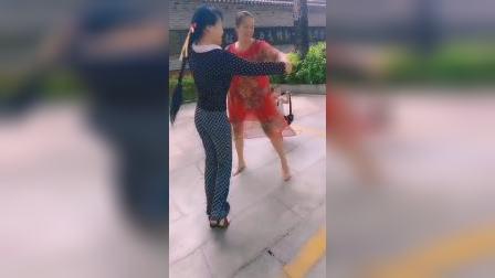 桃花运交谊舞(恰恰,冠军套路。男步,唐媚美女)zhanghongaaa配音制作原创(拍时无音乐)