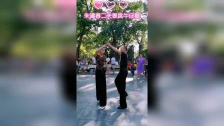 朱建春二夫妻展示,精彩花式交谊舞,zhanghongaaa摄制(配音制作)