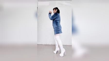 白色长靴高跟原声作品