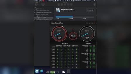 影驰SSD铁甲战将480G-低廉TLC SSD[大号U盘]演示过山车读写速度