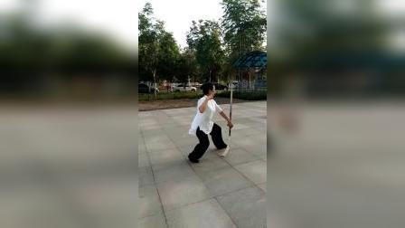 黄记华老师42式太极剑晨练