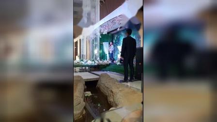 日照知名主持人王强 婚礼开场片段