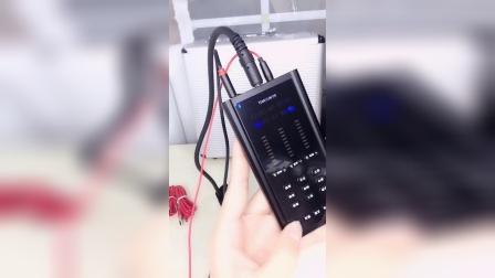 天韵F9新款手机电脑两用数字声卡效果演示