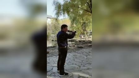 吴老先生演唱《我的家在东北松花江上》