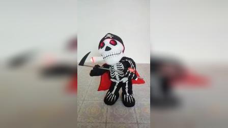 爱你宝贝礼品屋电动毛绒玩具唱歌跳舞香烟鬼创意玩具
