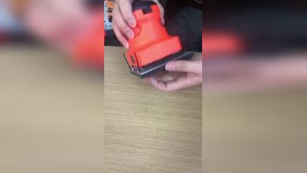 正方形砂光机砂纸的安装视频
