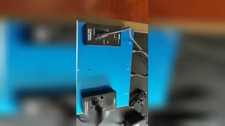 PC02连接话放好正常亮灯
