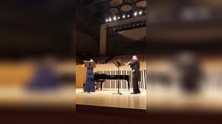 """2018-10-15【ERA】选自""""弄臣""""长笛二重奏与钢琴_超清"""