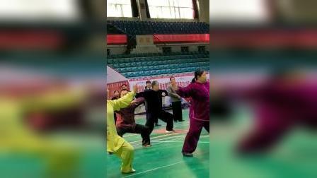 全省健身气功国家一级指导员培训优秀学员表演
