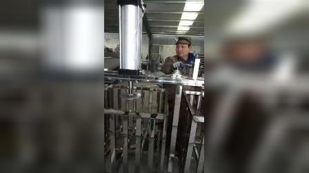 青州迪生豆干机操作视频