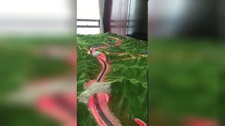 神华铁路动态火车模型