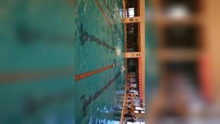 2019年8月50米自由泳🏊🏻破个人记录