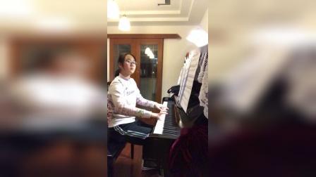 车尔尼740第十一首 演奏者:秦韵祺