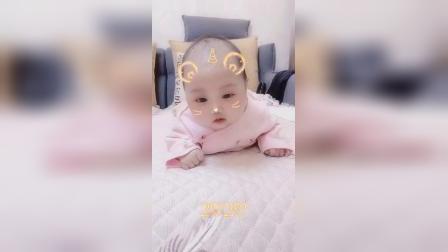 我的孙女好可爱!
