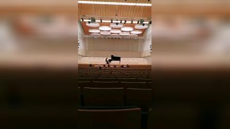 德国柏林艺术大学招生考试复试演奏现场