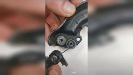 老式家用缝纫机绕线器改装