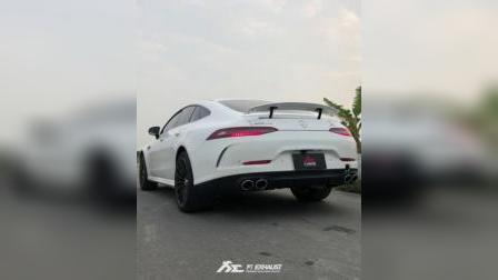 奔驰 AMG GT 43 x Fi 排气